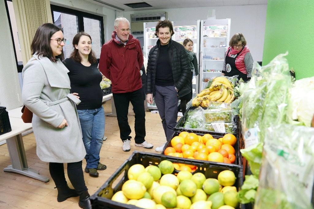Nina Eisenhardt zu Besuch beim Gemüse Netzwerk in Gernsheim